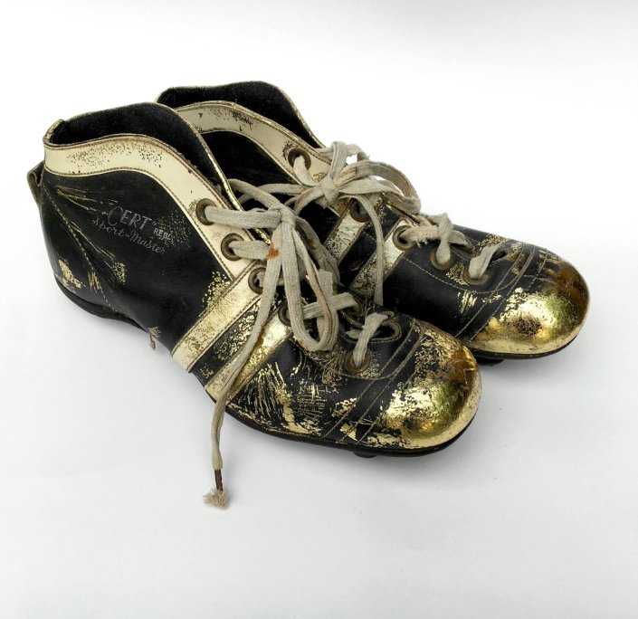 'Jo Boxhall's Football Boots', created by Melanie Tomlinson